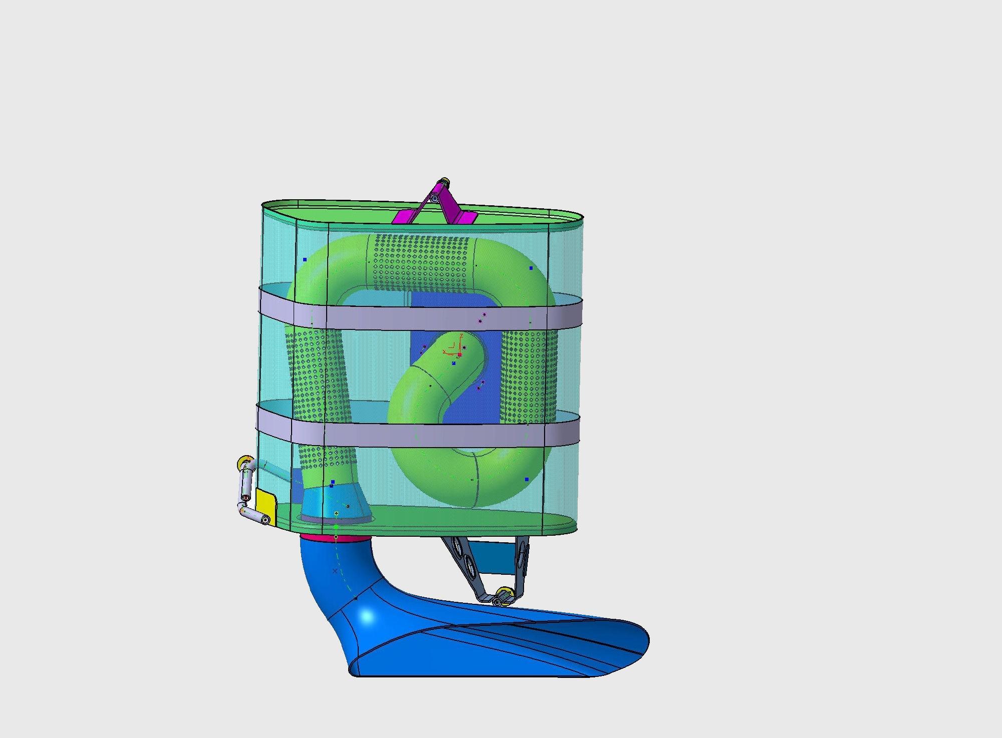 SLR-Auspuff-Grafik